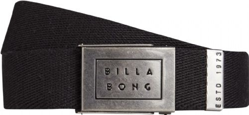 BILLABONG MENS BELT.NEW SERGEANT BLACK ADJUSTABLE JEANS WEBBING STRAP 8S 2 19
